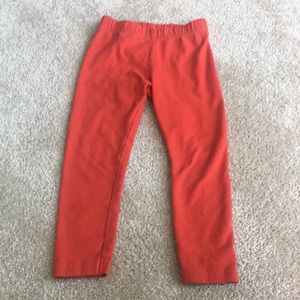Carters Red Leggings 2T